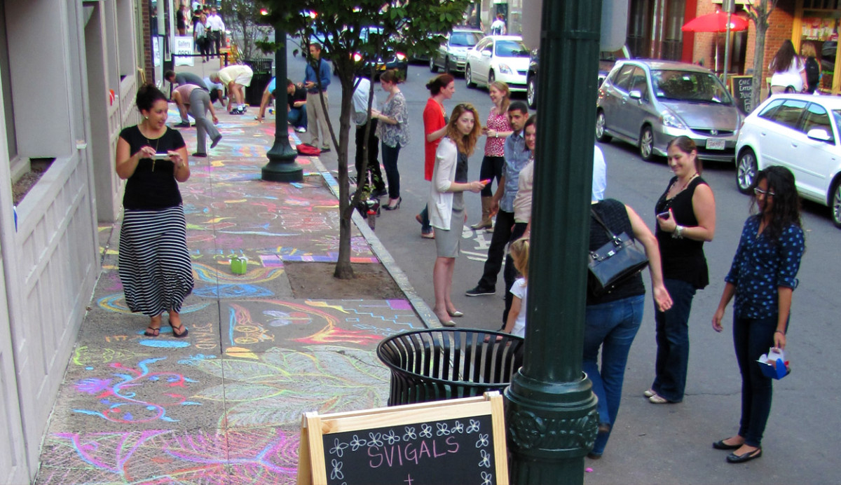 Sidewalk Chalk Party!